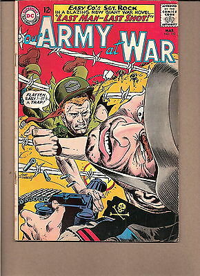 "Our Army At War  #152 1965  Dc  Fn/vg  ""sgt. Rock's-Easy Co."" Kubert"