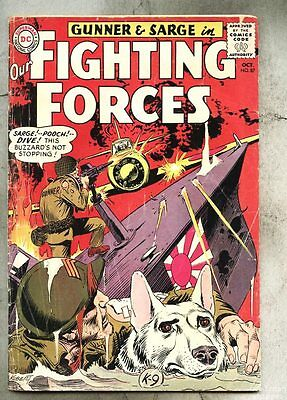 Our Fighting Forces #87-1964 vg/gd  Kubert Gunner & Sarge