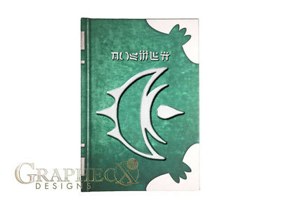 Elwind Tome Fire Emblem inspired hardcover cosplay book journal notebook