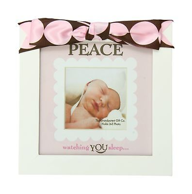 The Grandparent Gift Co. Defining Baby Frame Girl Peace