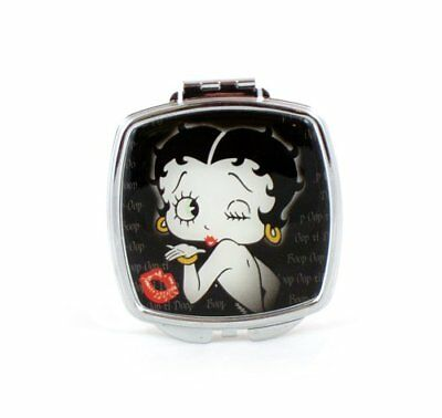 Betty Boop, Black/Pink  Mirror Compact, Make-Up, Cosmetic