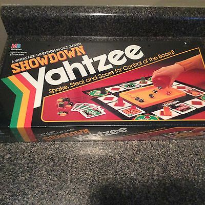 1991 Showdown Yahtzee Board Game - Complete Factory Sealed Free Shipping