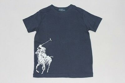Brand New Authentic Ralph Lauren Boys Big Pony Print Cotton Shirts Size 4.5