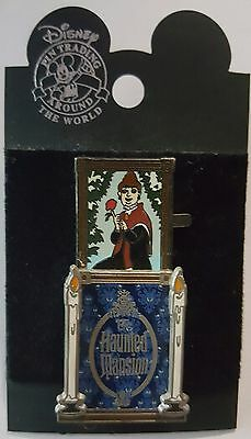 Disney Pin DLR Haunted Mansion Stretching Room Portrait Headstone Slider Le 2000