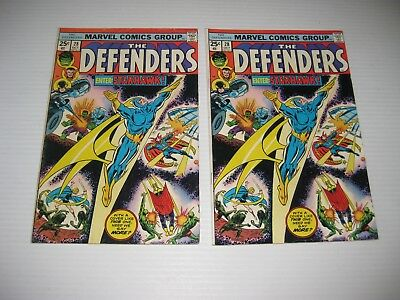 The Defenders Issue #28 (2 Copies) 1st Appearance Seahawk