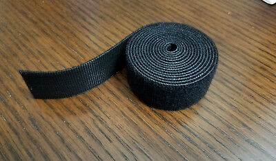 "VELCRO® Brand Reusable ONE-WRAP® Strap Double Sided Hook & Loop 1"" X 5ft  Black"