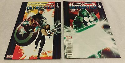 Marvel Comics - The Ultimates Comic Book Lot Issue #1 & #2