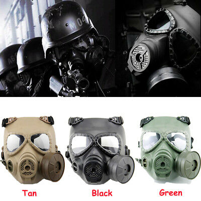 Tactical Airsoft Face Protection Safety Gear Cosplay Mask for CS Paintball Game