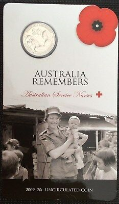 2009 20 cent - Australia Remembers - Australian Service Nurses