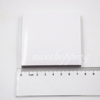 1 Pad M 7.6*7.6 Dental Mixing Impression 50 Sheet Poly Coated Paper Disposable
