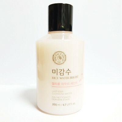 [The Face shop] Rice Water Bright Last-Step Cleansing Water 200ml /6.76oz