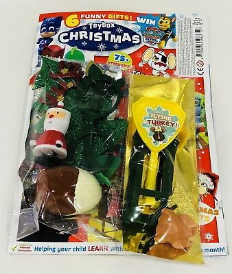 Toybox Magazine #337 CHRISTMAS - 6 AMAZING FREE GIFTS! (NEW)