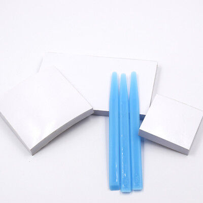 Dental Mixing Coated Paper Sheet/Pad 2 Sides S/M/L & Mixing Tip Tools Plastic