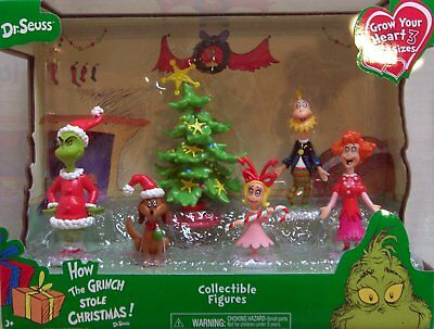 Just Play Dr. Seuss Grinch Holiday Figures Set
