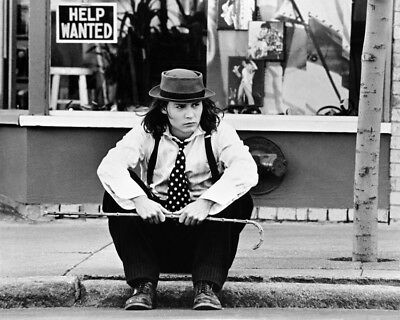 Johnny Depp B&W Graph Benny And Joon 16x20 Canvas Giclee