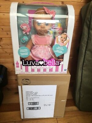 Luvabella Doll In Hand Not Pre Order Rare Blonde Brand New In Box
