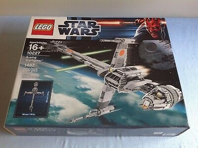 Lego Star Wars UCS 10227 B-wing Starfighter New/Sealed/Retired**Free Shipping**