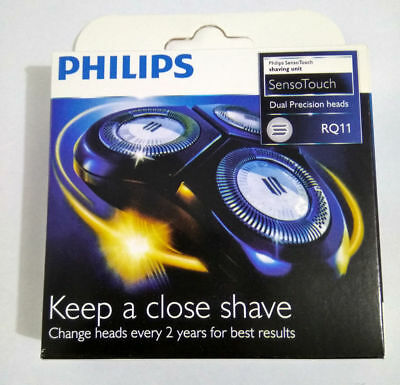 Genuine Shaver Replacement Razor Head For Philips Norelco RQ11 Sensotouch 2D