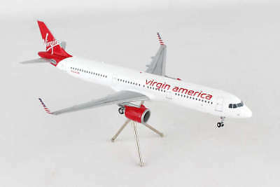 Airplane VIRGIN AMERICA Airbus A321 NEO Current Livery Colors  Model Aircraft