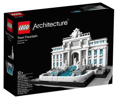 LEGO Architecture 21020 - Trevi Fountain (RETIRED SET) New & Sealed