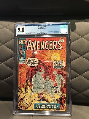 The Avengers #85 1st SQUADRON SUPREME CGC 9.0 White To Off White Pages 1971