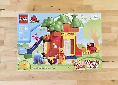 LEGO DUPLO 5947 Winnie The Pooh's House: Retired with box, manual and ALL pieces
