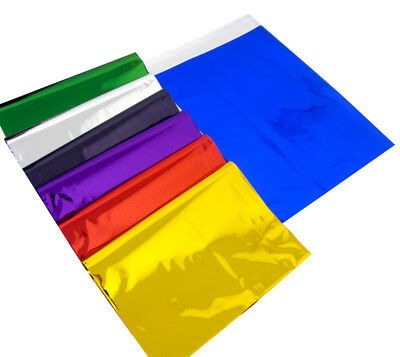 100 Postage Mailing Bags Strong Colour Self Seal Plastic Poly Bags 250mm x 350mm