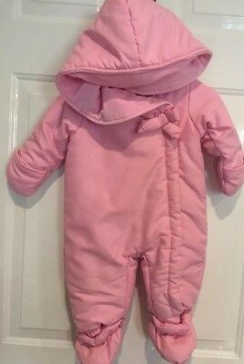 f4c6ea2108e0 INFANT GIRLS FIRST Impression Snowsuit. 6-9 Months -  8.00