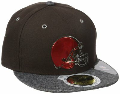 quality design 3bfc5 bfcb7 NFL Cleveland Browns 6 3 8 KIDS Youth RARE! New Era 59FIFTY Cap Fitted