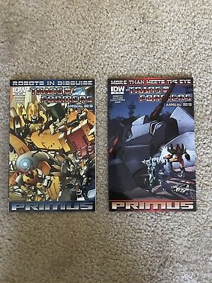 Transformers IDW 2012 Annual MTMTE RID One-shots Comics Issues NM