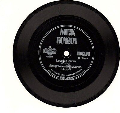 Mick Ronson, flexible disc from 1973