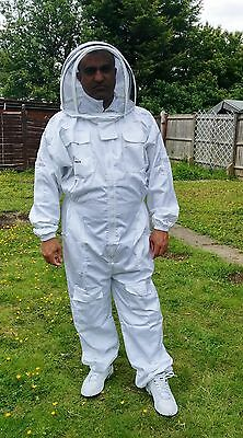 PREMIUM QUALITY Beekeeping suit beekeeper suit bee suit with fencing veil- XL