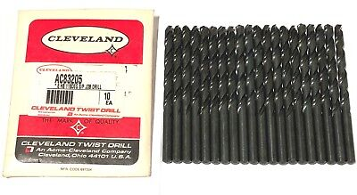 20 Cleveland Twist Letter E Drill Bits 118 Degree Split Point Jobber Drill USA
