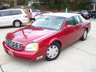 2002 Cadillac DeVille DHS 77k ULTRA SHARP COLORS COACH ROADSTER ROOF A BEAUTY