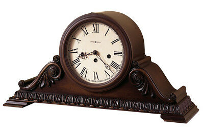"630-198 "" Newley"", Mantle Clock In American Cherry Made By Howard Miller"