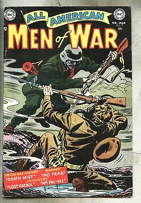 All-American Men Of War #9-1954 fn Irv Novick