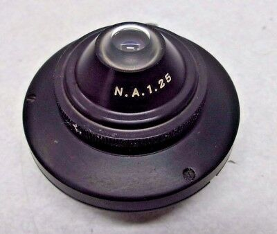 American Optical  Ao Microscope Condenser, N.a.1.25 With Iris