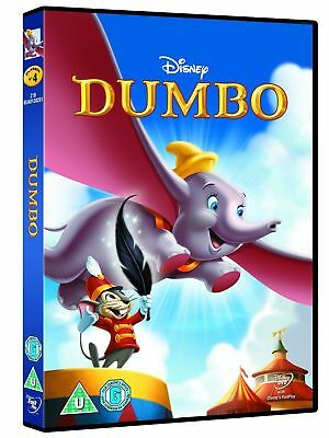 Dumbo Disney Dvd - Gold Oval Number Brand New But Not Sealed