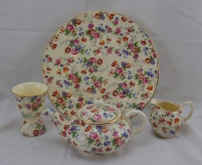 Erphilia Germany Dorset Cheery Chintz Breakfast Set For One