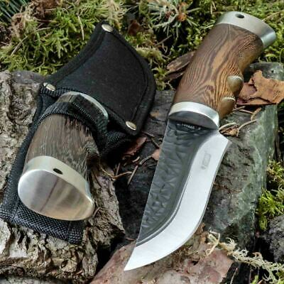 11.22in KANDAR FB-34 FIXED BLADE KNIFE HUNTING A.