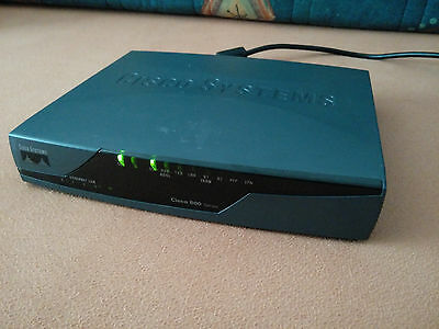 Cisco Systems 800 Series - 876 - SEC - K9 - ADSL Router