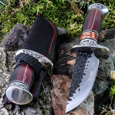 10.12in KANDAR A051-2 • HUNTING • FIXED BLADE KNIFE A0