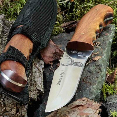10.55in KANDAR FB1990 FIXED BLADE KNIFE HUNTING A.