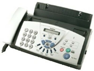 Brother FAX-837MCS Thermal 14.4Kbit/s Black,Silver fax machine
