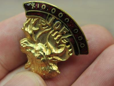 Fraternal Order of Moose IOF Pin 10 million club Forester of America  (17j2)