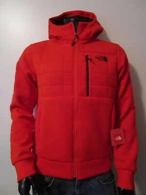 NWT Mens TNF The North Face Spacer HD Thermal Hoodie 3D Fleece Jacket - Paprika