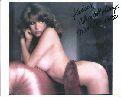 Charlotte Kemp Playboy Playmate In-Person Hand Signed Autographed Photo