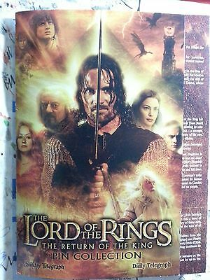 Lord of the Rings Return of the King Pin collection set hard to find