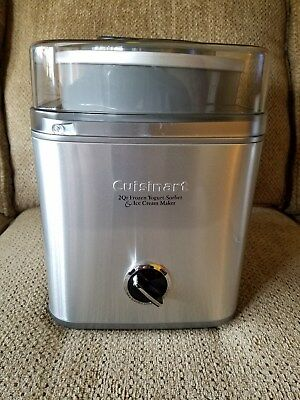 Cuisinart ICE 30BC Pure Indg 2 Qt Automatic Frozen Yogurt Sorbet Ice Cream Maker