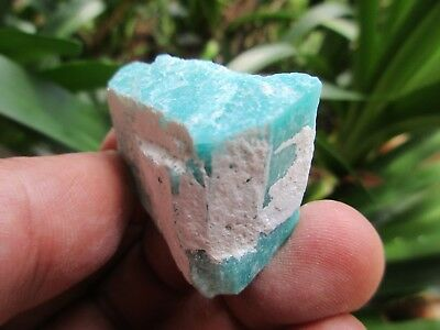 "MICROCLINE var AMAZONITE crystal  - ""Pikes Peak"" Teller County 21g NICE"